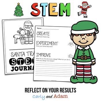 How to Catch Santa Christmas Read Aloud STEM Activity