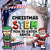 How to Catch a Santa Christmas READ ALOUD STEM™ Activity with Distance Learning