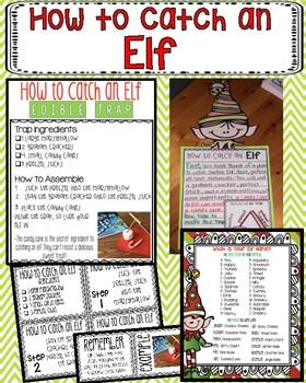 How to Catch En Elf Writing, STEM, & Craft