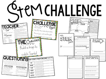 How to Catch Santa: Book Companion and STEM Challenge