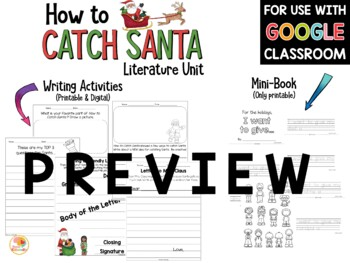 How to Catch Santa Writing and Activity Pack