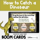 How to Catch a Dinosaur BOOM Cards | Digital Activities