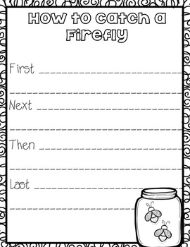 How to Catch a Firefly {Writing and Craft}