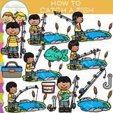 How to Catch a Fish: Sequencing and Fishing Clip Art