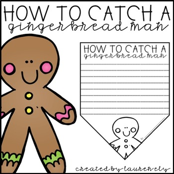How to Catch a Gingerbread Man - A Christmas Bunting Banner