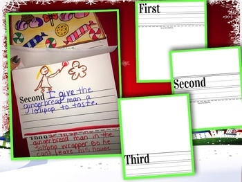 How to Catch a Gingerbread Man! Flip Book