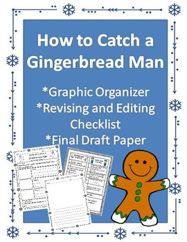 How to Catch a Gingerbread Man Winter Writing