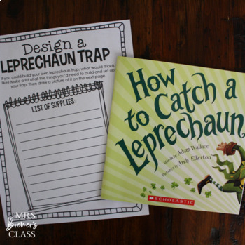 How to Catch a Leprechaun | Book Study and Craftivity