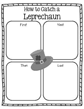 How to Catch a Leprechaun - St Patrick's Day Writing
