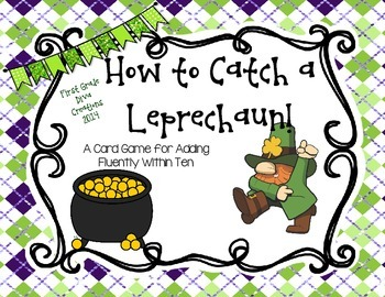 How to Catch a Leprechaun {A Printable Card Game for St. P