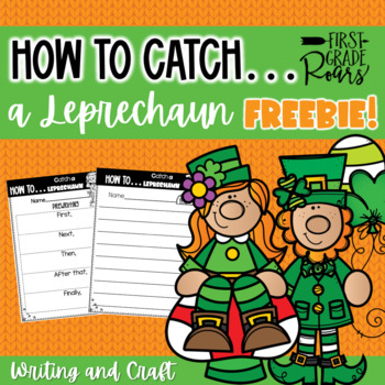 How to Catch a Leprechaun Freebie