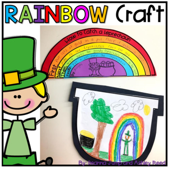 How to Catch a Leprechaun Rainbow Writing Craft
