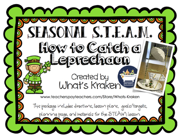 How to Catch a Leprechaun - STEAM STEM - Leprechaun Trap