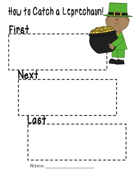 How to Catch a Leprechaun Sequence Writing