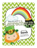 How to Catch a Leprechaun Sequencing activity