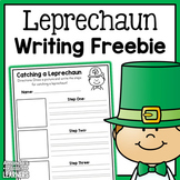 How to Catch a Leprechaun Writing Activity - Free