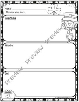 How to Catch a Leprechaun ~ Writing Activity