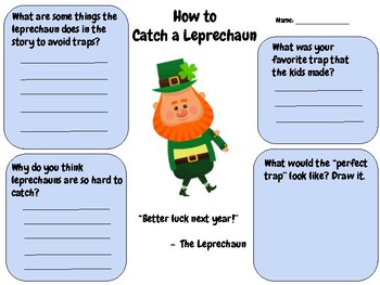 How to Catch a Leprechaun - Writing Activity (Andy Wallace)