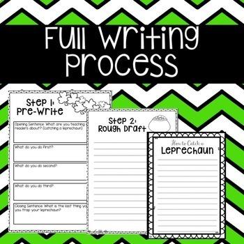 How to Catch a Leprechaun Writing FREEBIE!