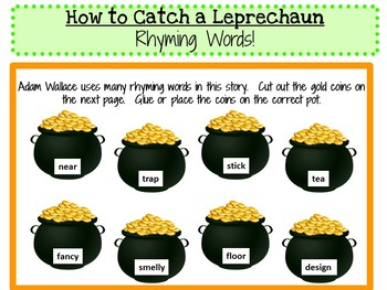 How to Catch a Leprechaun  by Adam Wallace:   A Complete Literature Study!
