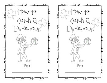 How to Catch a Leprechaun - small book