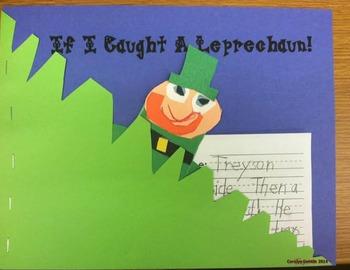 Leprechaun:  If I Caught a Leprechaun writing and craft activity