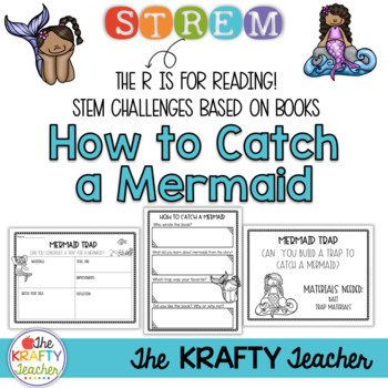 How to Catch a Mermaid - Book and STEM Activity #austeacherbfr