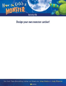 How to Catch a Monster Activity Kit