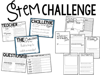 How to Catch a Monster: Book Companion & STEM Challenge