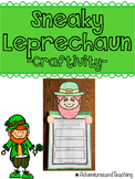 How to Catch a Sneaky Leprechaun {Craftivity}