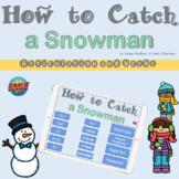 How to Catch a Snowman Articulation and Verbs BOOM Cards
