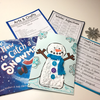 How to Catch a Snowman STEM and Book Companion Activities
