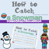 How to Catch a Snowman Following Directions BOOM Cards