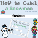 How to Catch a Snowman Games for BOOM Cards