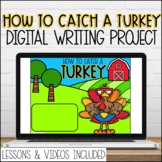 Digital How to Catch a Turkey Google Slides Writing Prompt