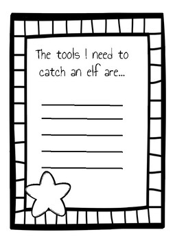 How to Catch an Elf Christmas Activity (NO PREP)