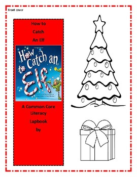 How to Catch an Elf Interactive Notebook or Lap Book