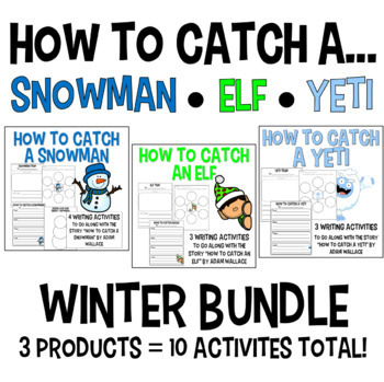 How to Catch an Elf & a Snowman - December BUNDLE