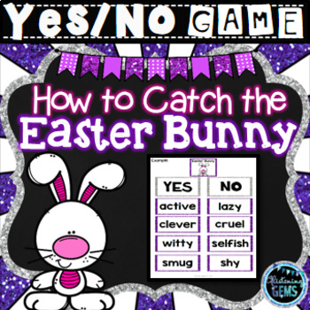 How to Catch the Easter Bunny - Character Traits Game