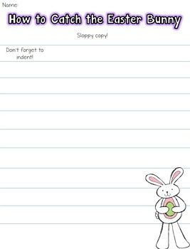 How to Catch the Easter Bunny - Expository Writing