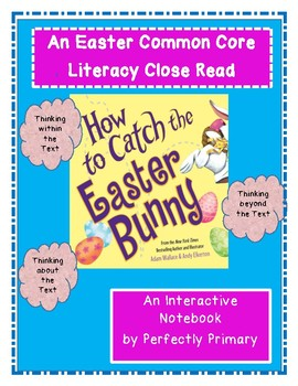 How to Catch the Easter Bunny Interactive Notebook- Lap Book Unit
