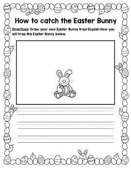 How to Catch the Easter Bunny Writing Activity