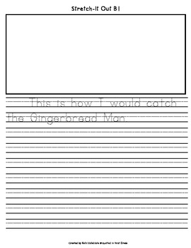 How to Catch the Gingerbread Man: A Differentiated Writing Activity