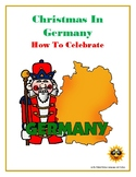 (CHRISTMAS GERMAN STUDIES) How to Celebrate Christmas in Germany—Reading Guide