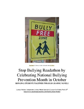 Step by Step Guide: Stop Bullying Readathon