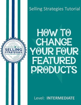 How to Change Your Four Featured Products