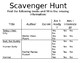 """How to Choose Books"" Scavenger Hunt"