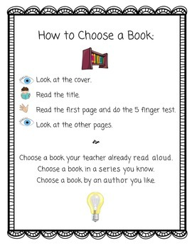 How to Choose a Book POSTER
