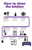 How to Clean the Kitchen Flowchart