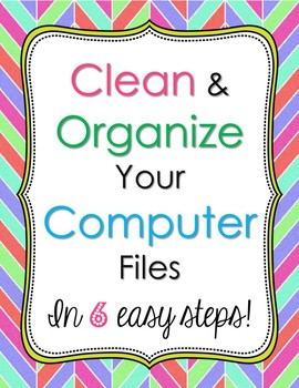 How to Clean up your Computer Files